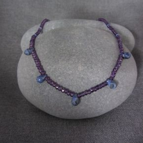 Amethyst & Sodalite Necklace €137