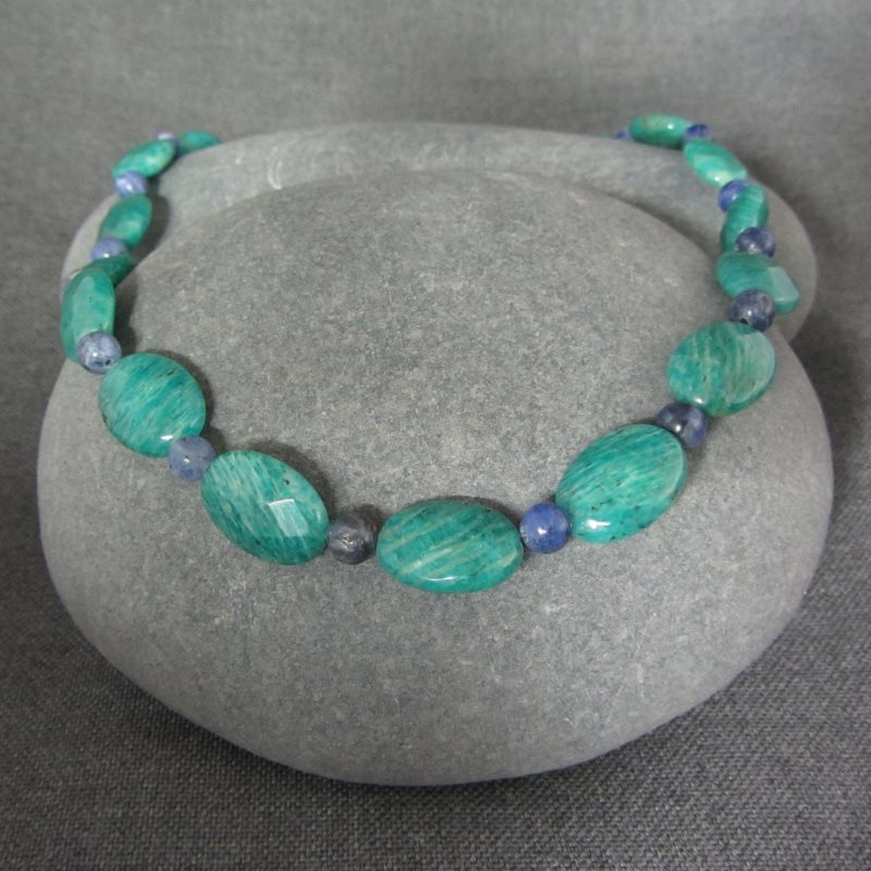 Amazonite & Sodalite Necklace