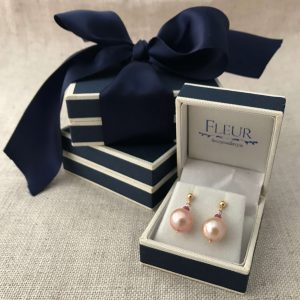 Craft Irish Earrings packaged in a box